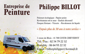 Ent. de Peinture Phillippe Billot