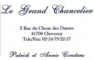 Restaurant Le Grand Chancelier