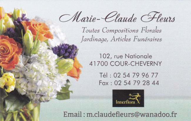 MARIE CLAUDE FLEURS